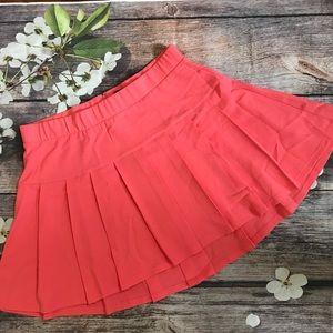 Torrid NWOT Peach/Coral High Low Skirt Size 18